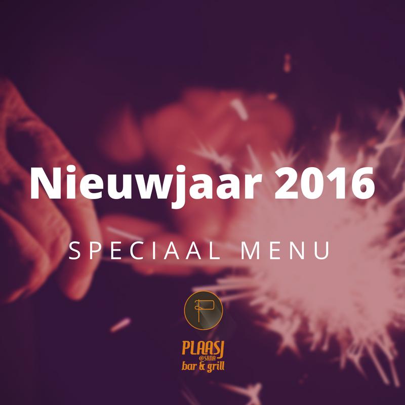 Plaasj @SRNA Bar & Grill - Nieuwjaar 2016