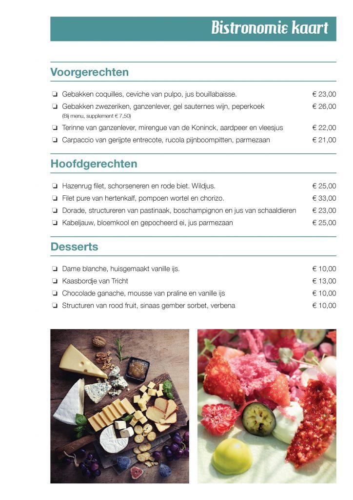 Plaasj food & drinks - menu