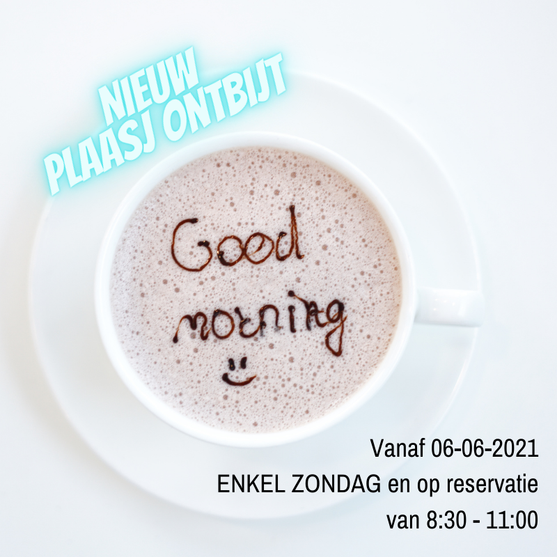 Plaasj Kaffee Food & Drinks - Ontbijt enkel op zondag